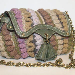New Savoy Anthropologie Sweater Knit Shoulder Bag
